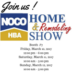 Join us at the NOCO HBA Home and Remodel Show!