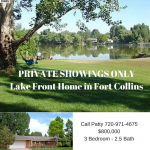 Lake Front Home in Fort Collins