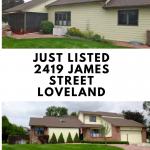 Just Listed – 2419 James Drive, Loveland