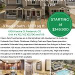 Open House – Frederick, CO – Sunday 9/17