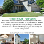 Hillrose Ct. – Private Showings
